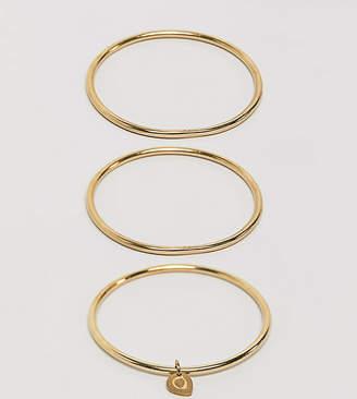 Made gold bangle set