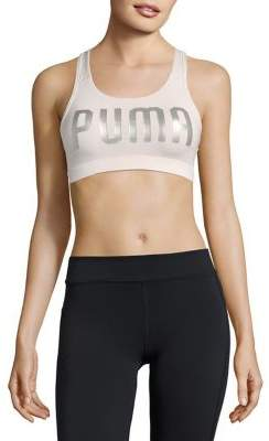 Puma Metallic Logo Bra