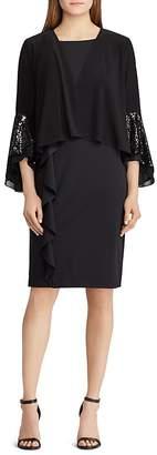 Lauren Ralph Lauren Sequin-Embellished Cardigan