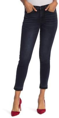 Nicole Miller Poe Released Hem Skinny Jeans