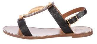 Valentino Scarab Leather Sandals w/ Tags