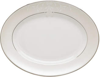 Lenox Opal Innocence Scroll Medium Oval Platter