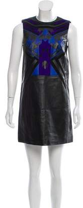 Versace Leather Mini Dress w/ Tags