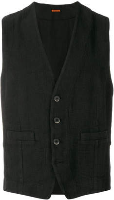 Barena fitted waistcoat