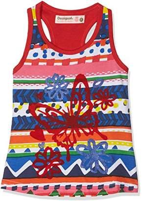 Desigual Girl's Ts_aranja T-Shirt,(Manufacturer Size: 13/14)
