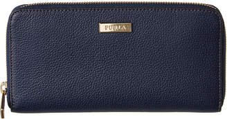 Furla Ritzy Extra Large Zip Around Leather Wallet