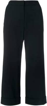 Alexander Wang cropped wide-leg trousers