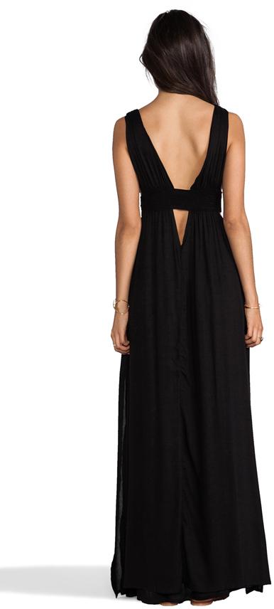 Indah Anjeli Empire Maxi Dress