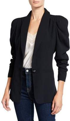 5d49ce1ad Puff Sleeve Jacket - ShopStyle