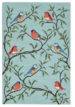 Liora Manné Ravella Birds on Branches Indoor and Outdoor Rug