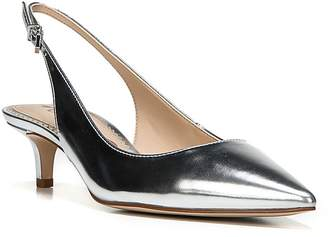 Sam Edelman Ludlow Metallic Pointed Toe Slingback Pumps