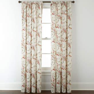 ROYAL VELVET Royal Velvet Diane Rod-Pocket Curtain Panel