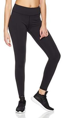 7Goals Women's High Waist Stretchy Workout Leggings Ankle Length Mesh Yoga Pants (S