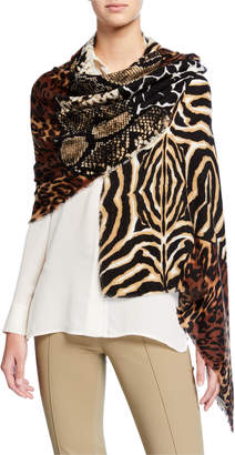 Collection XIIX Animal Mix Wrap Scarf