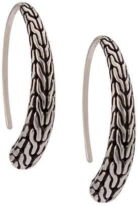 John Hardy small hoop earrings