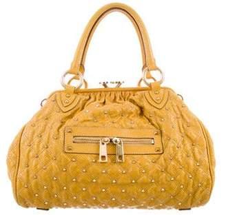 Marc Jacobs Snakeskin Studded Stam Bag