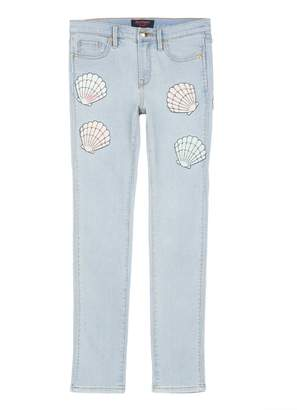 Juicy Couture Shell Applique Jean for Girls