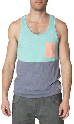 Tom Tailor Melange Cut and Sew Tank Top