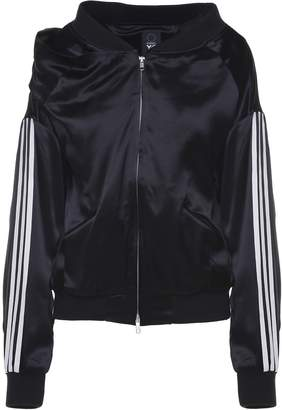 Y-3 Y 3 Side-stripe Satin Jacket