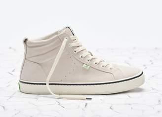 Cariuma OCA High Stripe Off White Suede Sneaker Women
