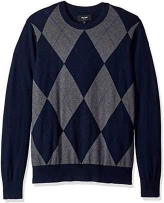 Jack Spade Men's Argyle Crewneck Sweater