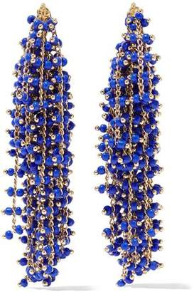 Elizabeth and James Gold-Tone Beaded Earrings