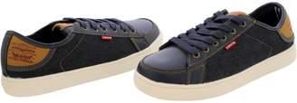 Levi's Boys' Carter Denim Low Top Sneakers (Big Kid)
