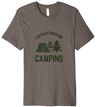 Hc-063a I'd Rather Be Camping T-Shirt