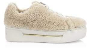 MICHAEL Michael Kors Curly Shearling Sneakers