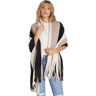 Billabong Women's On The Fringes Knit Scarf