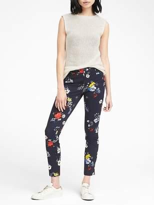 Banana Republic Sloan Skinny-Fit Patrizia Floral Ankle Pant