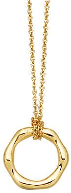 Missoma 18ct Gold Vermeil Mini Molten Pendant Necklace, Gold