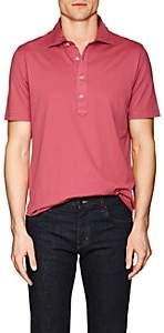 S.MORITZ Men's Capri Cotton Polo Shirt - Red