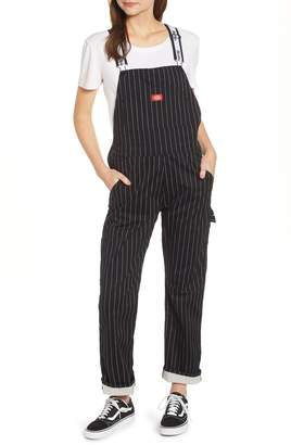 Dickies Pinstripe Stretch Twill Overalls