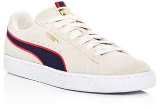 Puma Men's Classic Sport Suede Lace Up Sneakers