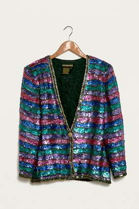 Urban Renewal Vintage One-of-a-Kind Multi-Striped Jacket