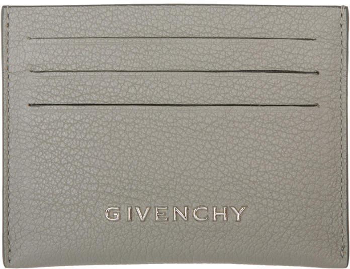 Givenchy Grey Pandora Card Holder