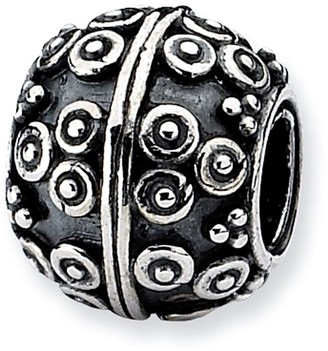 Prerogatives Sterling Tiny Circles Artisan Bead