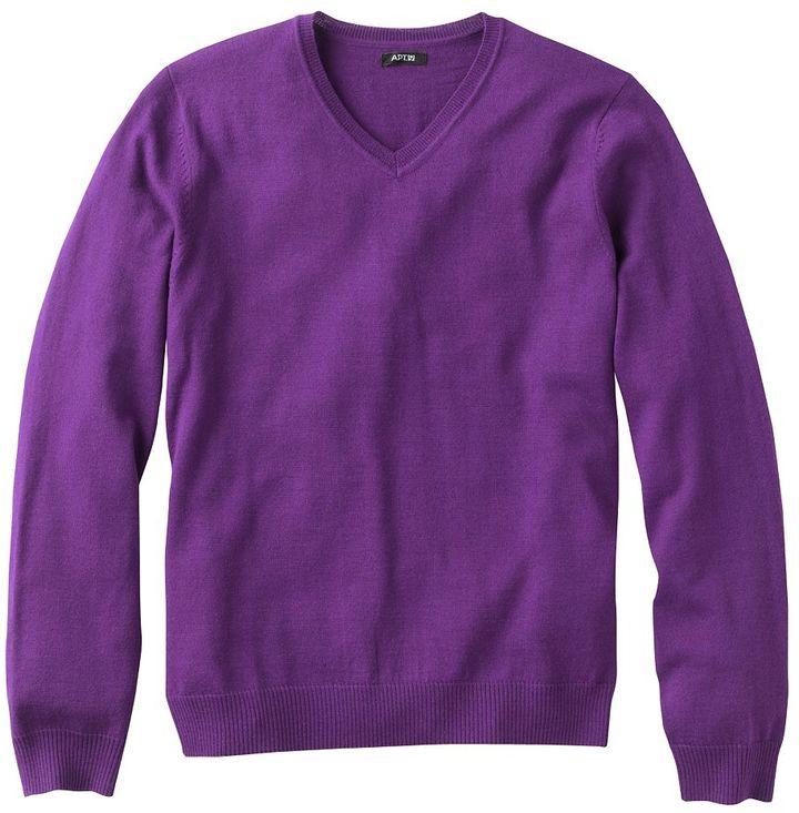 Apt. 9 merino v-neck sweater