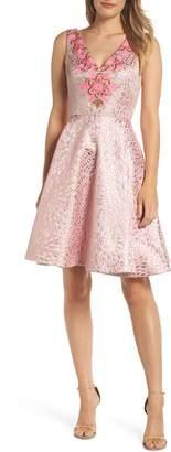 Lilly Pulitzer R) Elanie Fit & Flare Dress