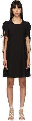 See by Chloe Black Puff Sleeve Dress