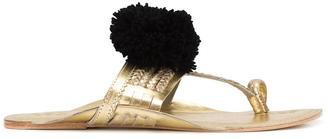 Figue 'Leo' pom pom sandals