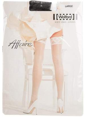 Wolford Sheer Affaire Stockings w/ Tags