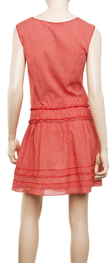 Max Studio Shirred Dress