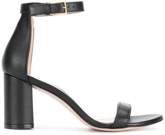 Stuart Weitzman two strap block heel sandals