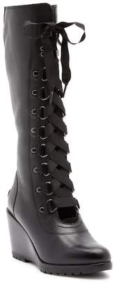Sorel After Hours Tall Waterproof Leather Boot