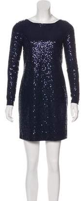 Tibi Sequin Mini Dress