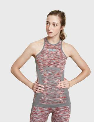 adidas by Stella McCartney Seamless Yoga Tank in Space Dye