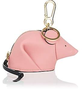 Loewe Women's Mouse Leather Coin Purse Key Chain-Candy