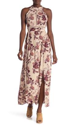 Angie Floral Printed Maxi Dress